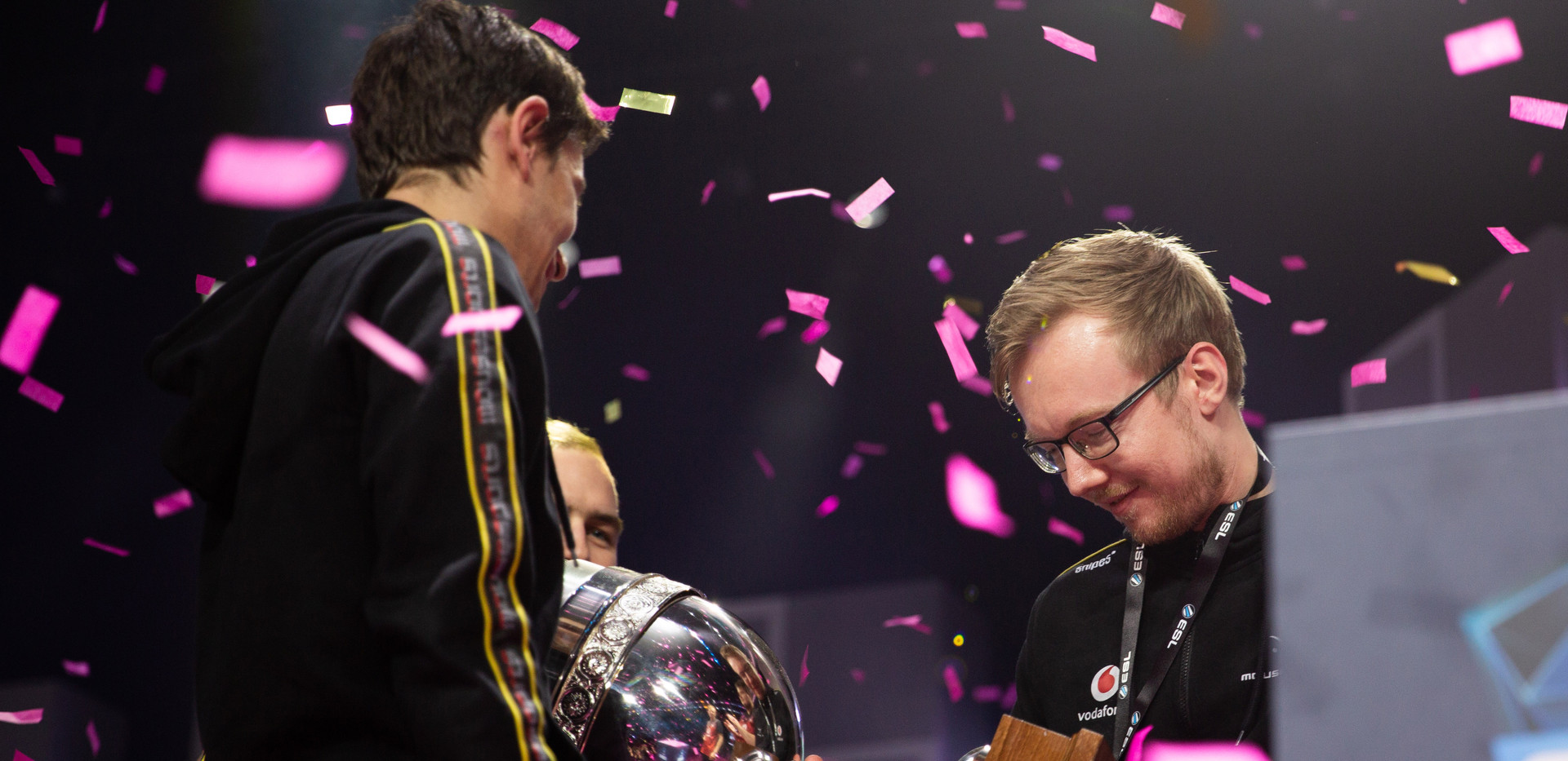 chrisj Holding Trophy