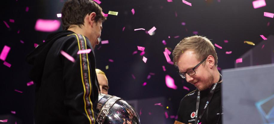 chrisj Holding Trophy