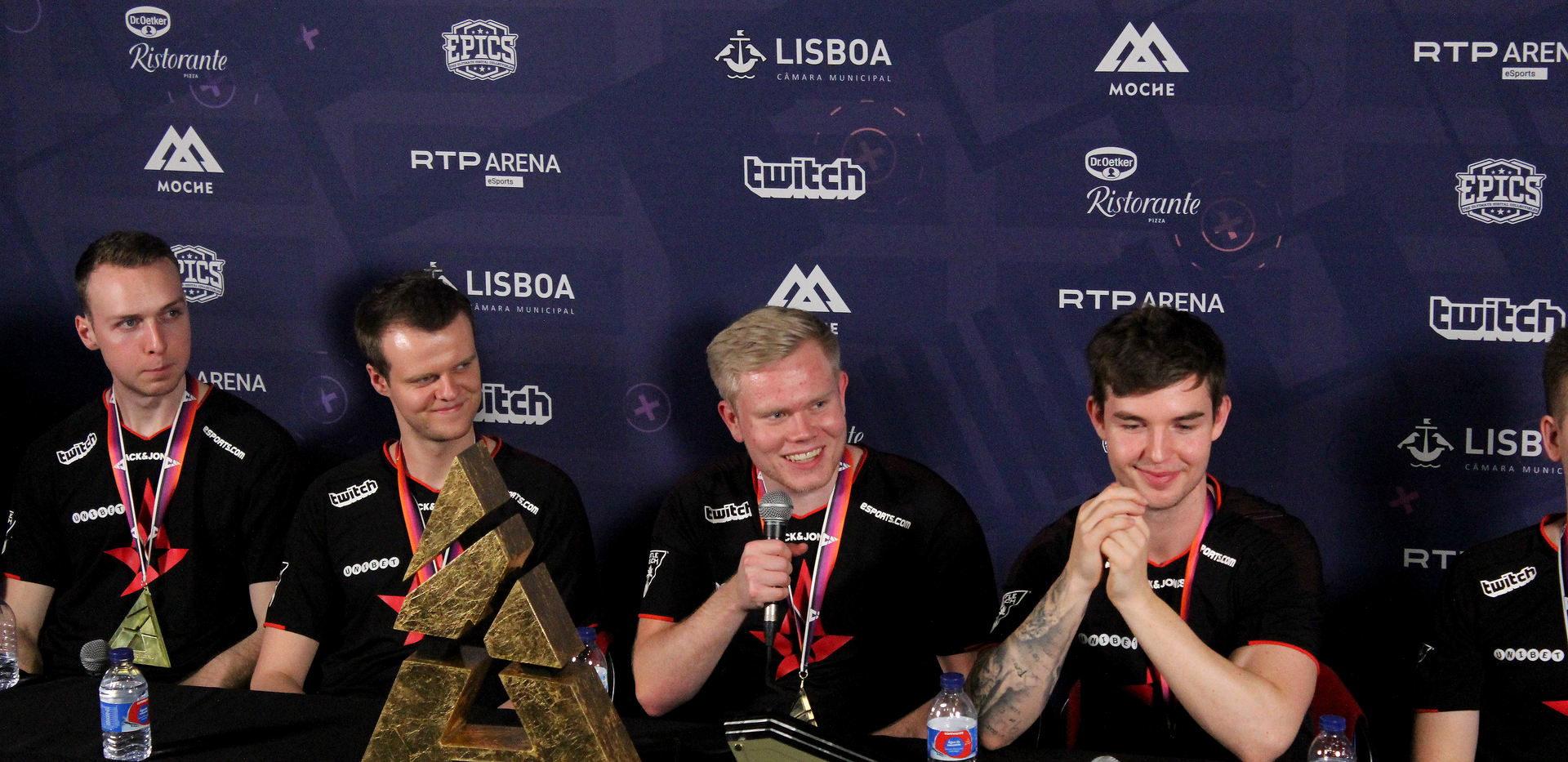Astralis With Their Trophy