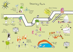 Map Stanley Park