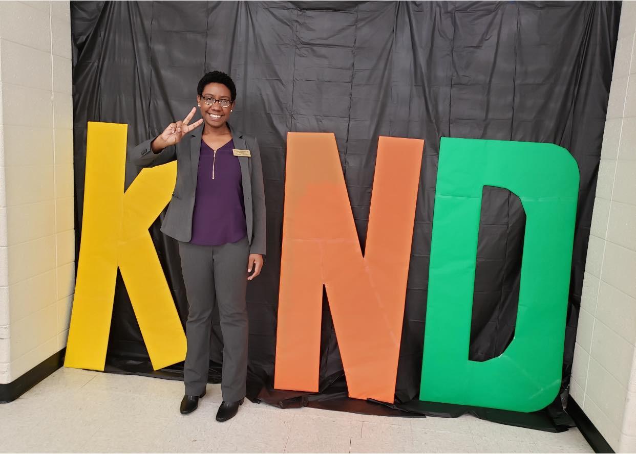 Angela during Kenosha Kindness Week
