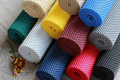 StayPut Non-Slip Fabric Roll - 30.5 x 182.9cm - Black