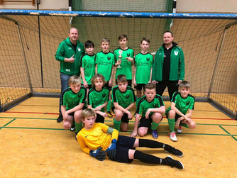 D1-Jugend erzielt 2. Platz beim Hallenturnier des FC Marbeck