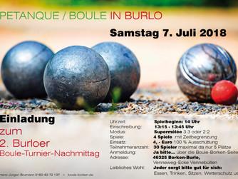 PETANQUE/BOULE in Burlo am 07.07.18