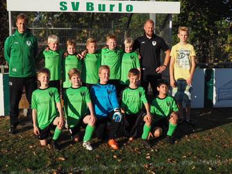 E1 des SV Burlo behauptet Tabellenführung mit deutlichem Sieg gegen SC Reken 2