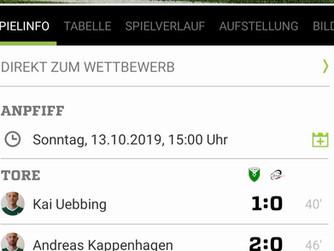 1.Mannschaft des SV Burlo mit viertem Sieg in Folge mit dem 4:0 gegen SG Borken III
