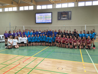 Gutes Abschneiden der Borkener Mannschaften beim Volleyballturnier