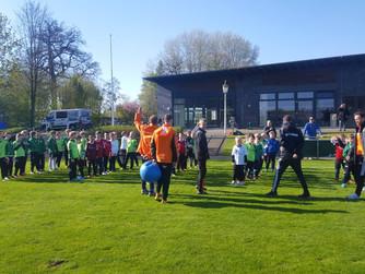 Fußballcamp 2017 - Erste Eindrücke