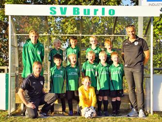 F2 des SV Burlo weiter auf Erfolgskurs im Spiel gegen die F2 der SG Borken