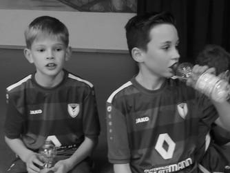 F1 des SV Burlo gewinnt Freundschaftspiel in der Halle gegen Oeding