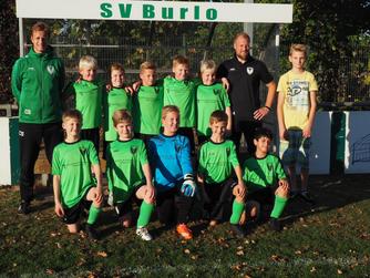 E1 des SV Burlo erkämpft sich einen 3:2 Sieg gegen Viktoria Heiden II