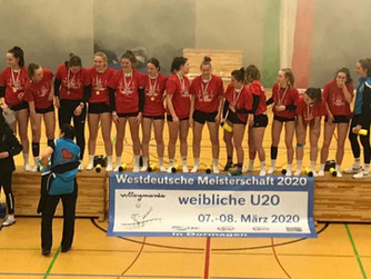 Der SV Burlo gratuliert der U20 der Skurios Volleyballer zum Gewinn der Westdeutschen Meisterschaft