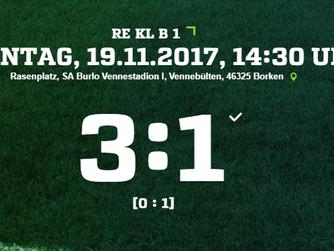 SV Burlo holt sich im kleinen Derby drei Punkte gegen die Adler aus Weseke