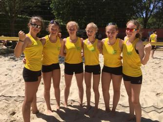 SV Burlo/RC Borken-Hoxfeld bei den Westdeutschen Meisterschaften U16 Beachvolleyball