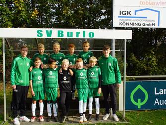 E1 des SV Burlo siegt im Heimspiel gegen die E1 der SG Borken mit 9:1