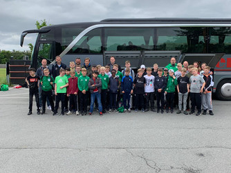SV Burlo rockt Albertslund in Dänemark