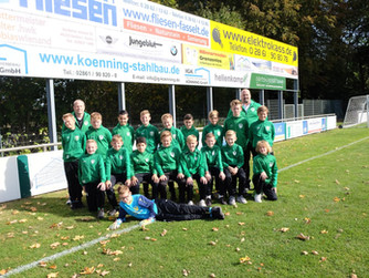 D1 erkämpft sich mit toller Team-Leistung einen Punkt in Ramsdorf