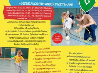 FUTZIBALL für Kinder von 2-5 Jahren wird nun auch vom SV Burlo angeboten!!