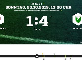 1.Mannschaft des SV Burlo weiter in der Erfolgsspur...Platz 2 in der Tabelle!