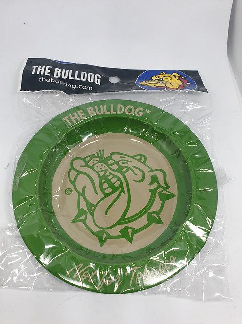 Bulldog Green Ashtray