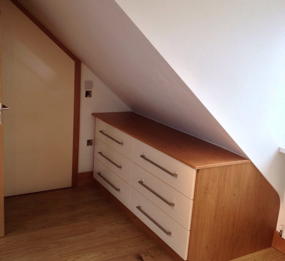 Under Eaves Fitted Drawers