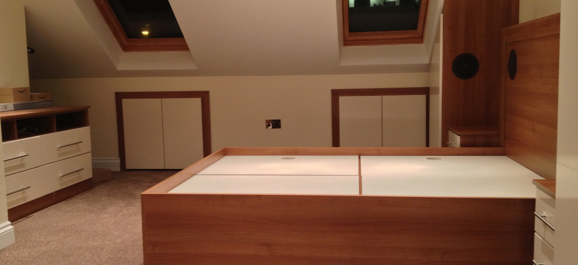 Loft Wardrobes and Bed