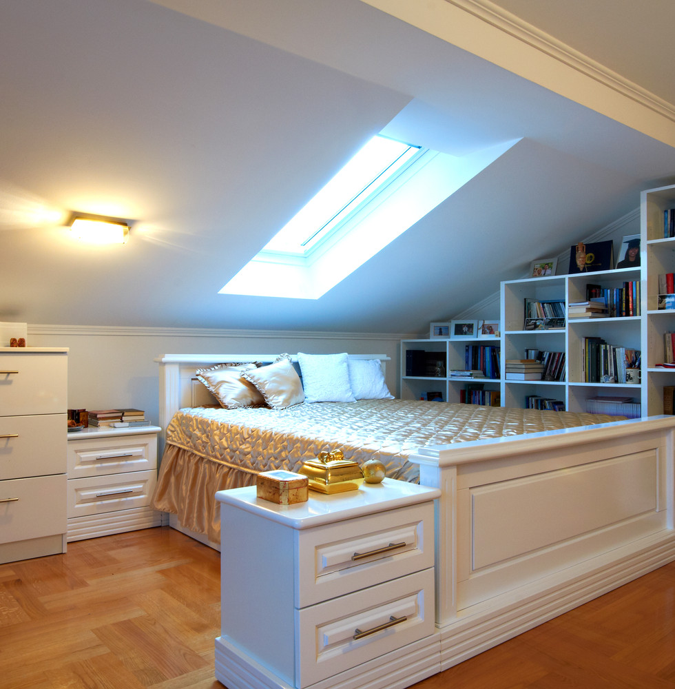 Sloping Roof Wardrobes and Drawers
