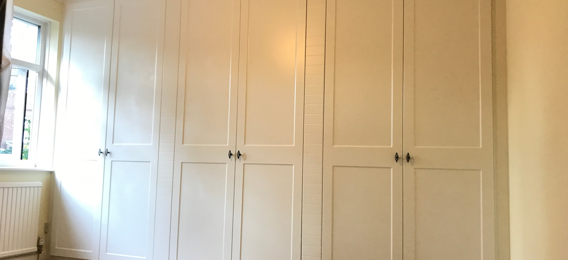 Full Wall Fitted Wardrobes