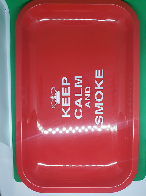Keep Calm Rolling Tray