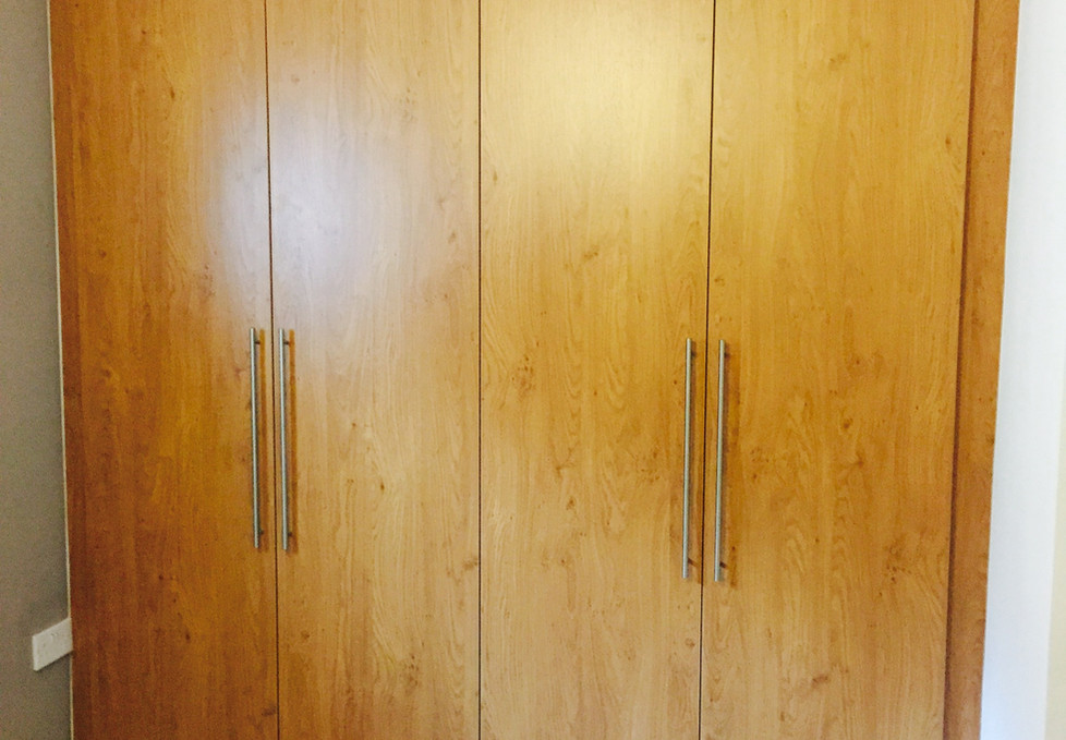 Fully Fitted Double Wardrobe