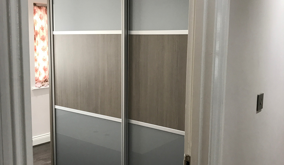 Wooden Finish Wardrobe