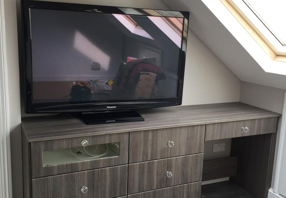 Alcove TV Stand