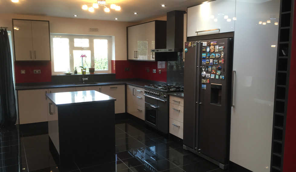 Completed Project Kitchen and Island
