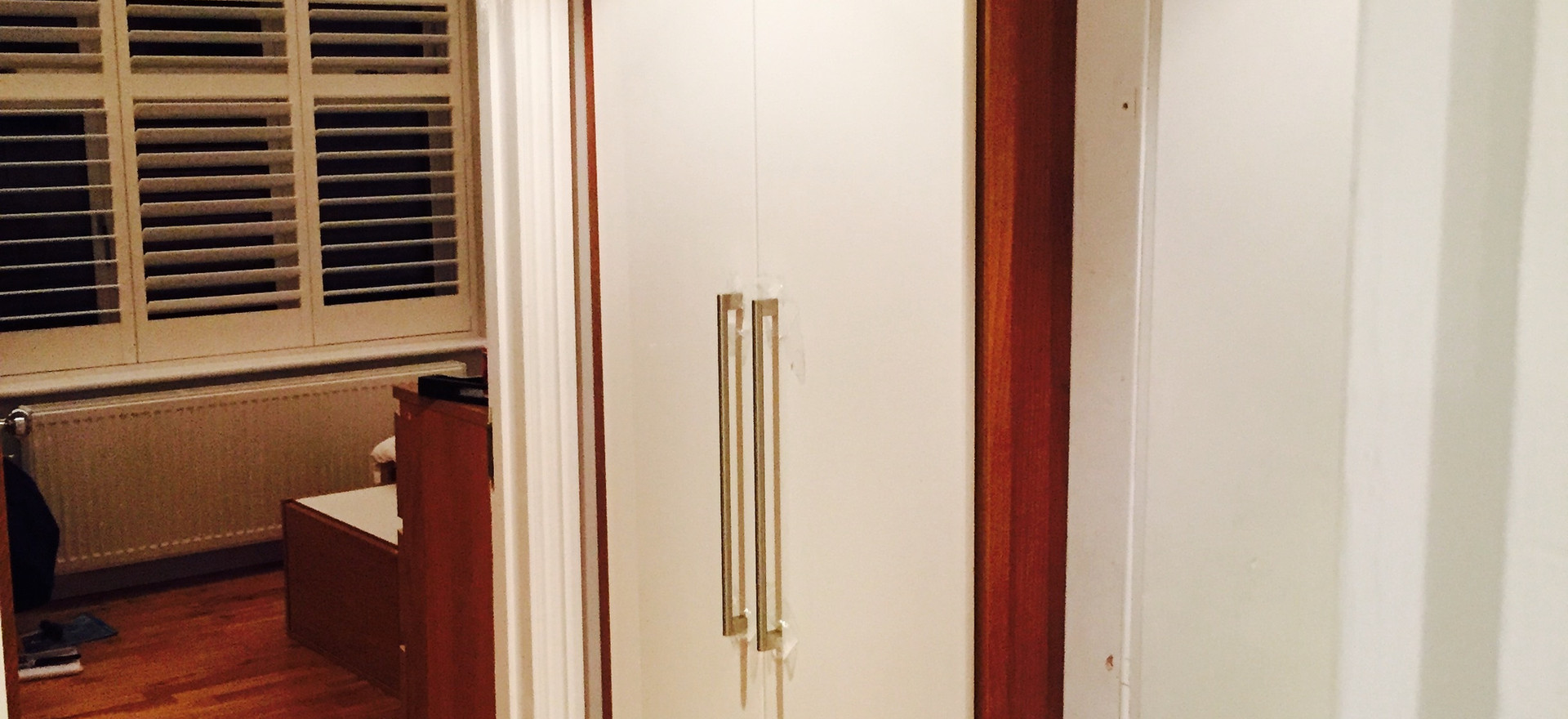 Small Space Fitted Wardrobe