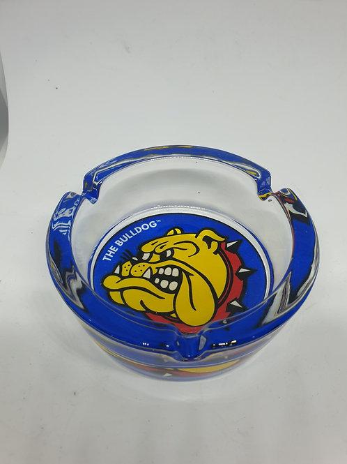 Bulldog Clear Glass Ashtray