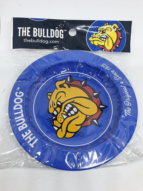 Bulldog Blue Ashtray