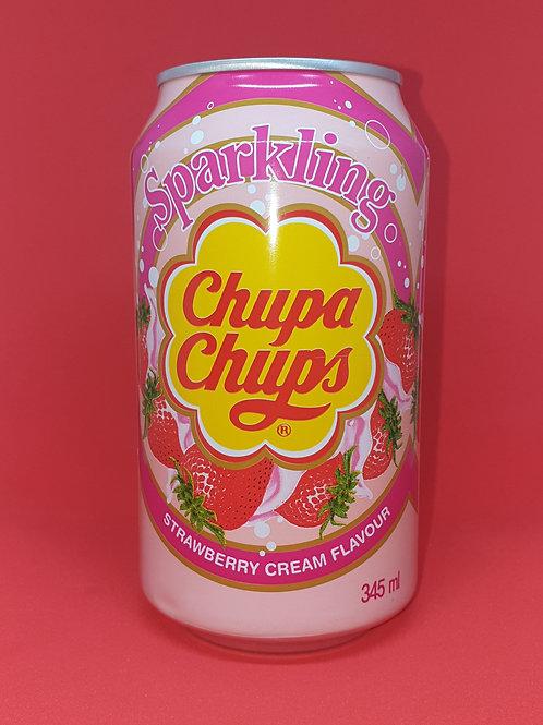Chupa Chups Strawberry Cream Drink
