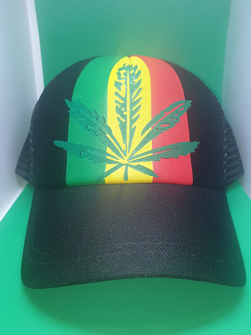 Leaf Black Cap