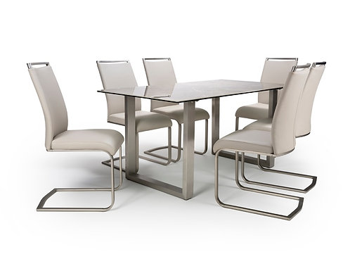 Rocca 160cm - 200cm Extending Dining Table Set