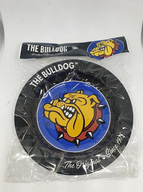 Bulldog Black Ashtray