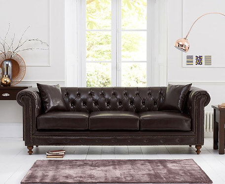Monrose Leather Chesterfield