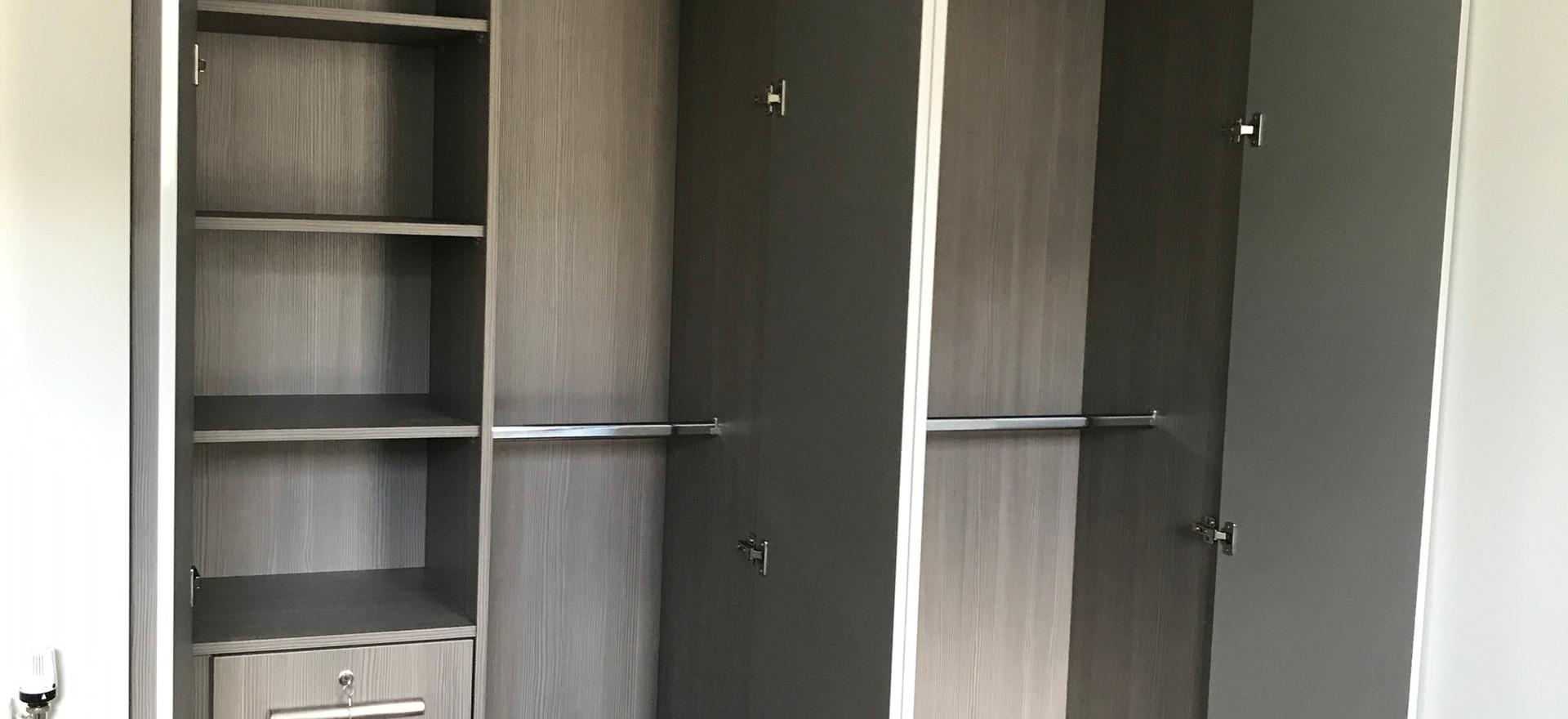 Folding Door Wardrobe