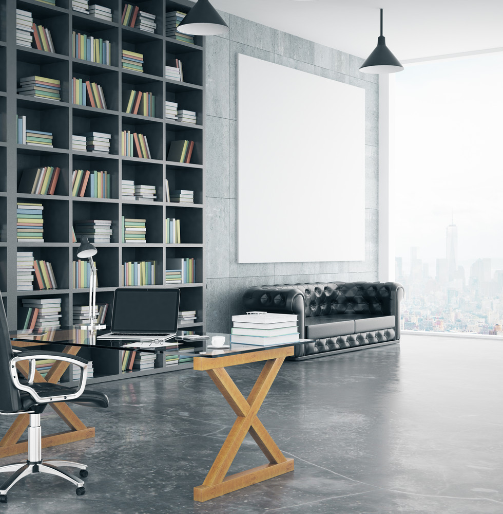 Large Wall Storage for Home Office