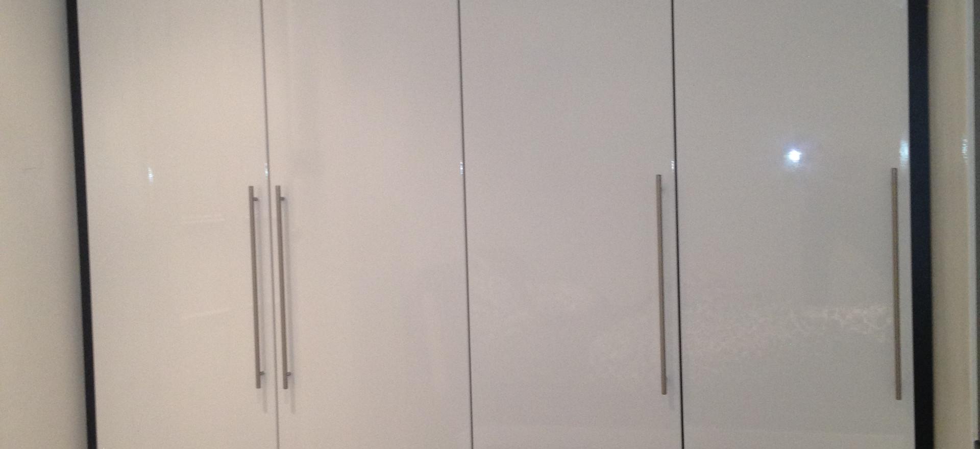 Angled Wardrobe Doors