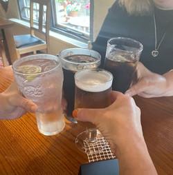 Cheers, lovely break.......