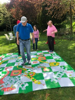 Playing snakes & ladders