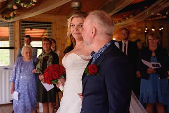 Ceremonie - bruiloft vakantiepark eigenw