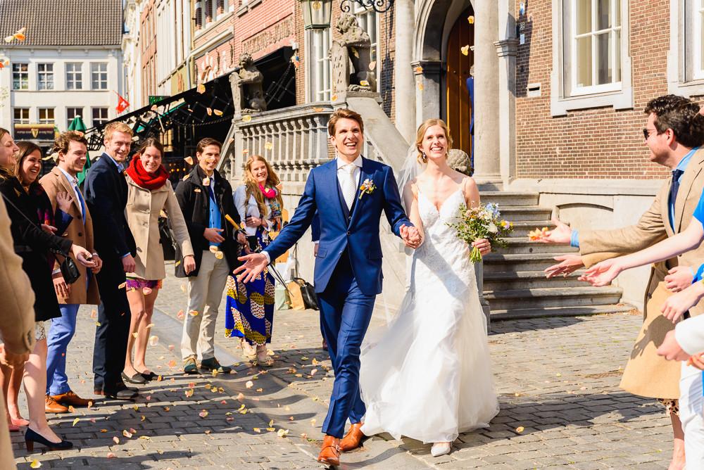 Trouwen in het stadhuis van Breda op de