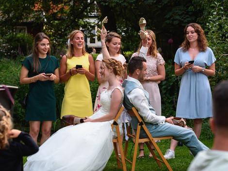 Hoe lang heb ik een trouwfotograaf nodig?