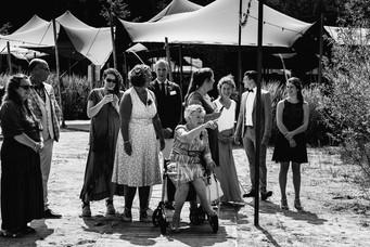 Bruiloft bij Paviljoen het houtse meer in den hout